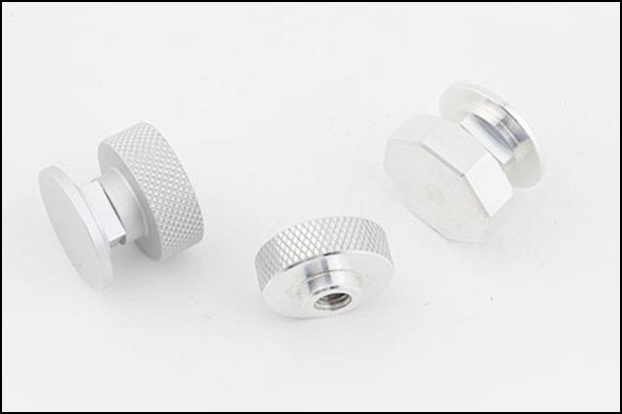 小さなCNC機械加工アルミニウム6061ローレットロックナット