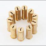 ワイヤーEDM加工銅-真鍮ロックコアパーツ