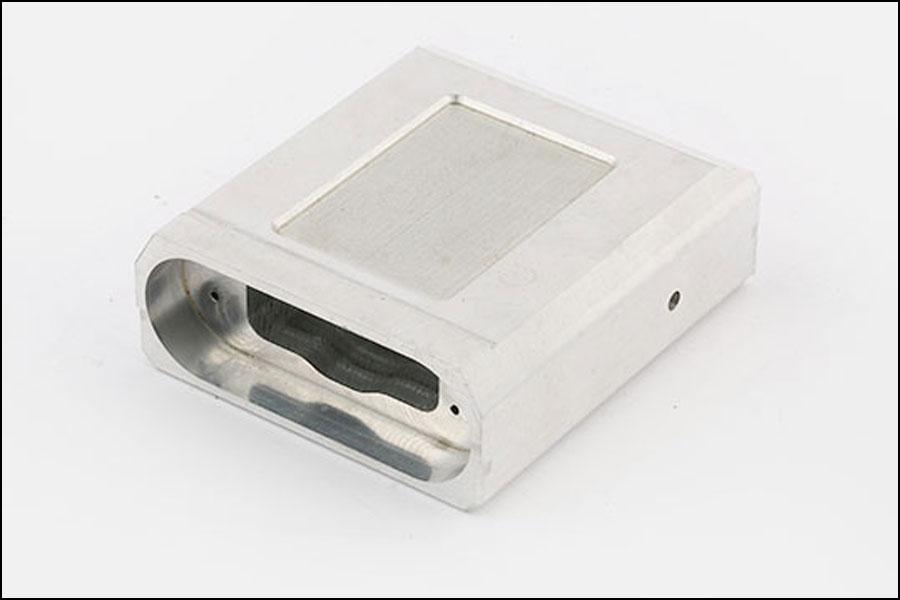 南京錠の7075アルミニウム部品をフライス加工したCNCフライス加工