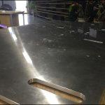 大型鋼板-アルミ板用のガントリー加工ソリューション