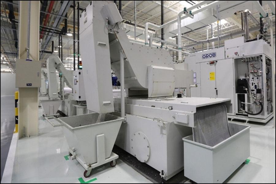 小型マシニングセンターの工程特性
