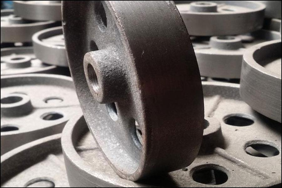 機械加工に使用される鋳鉄