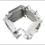 磨かれたCNC機械加工7050アルミニウムプロジェクトボックス