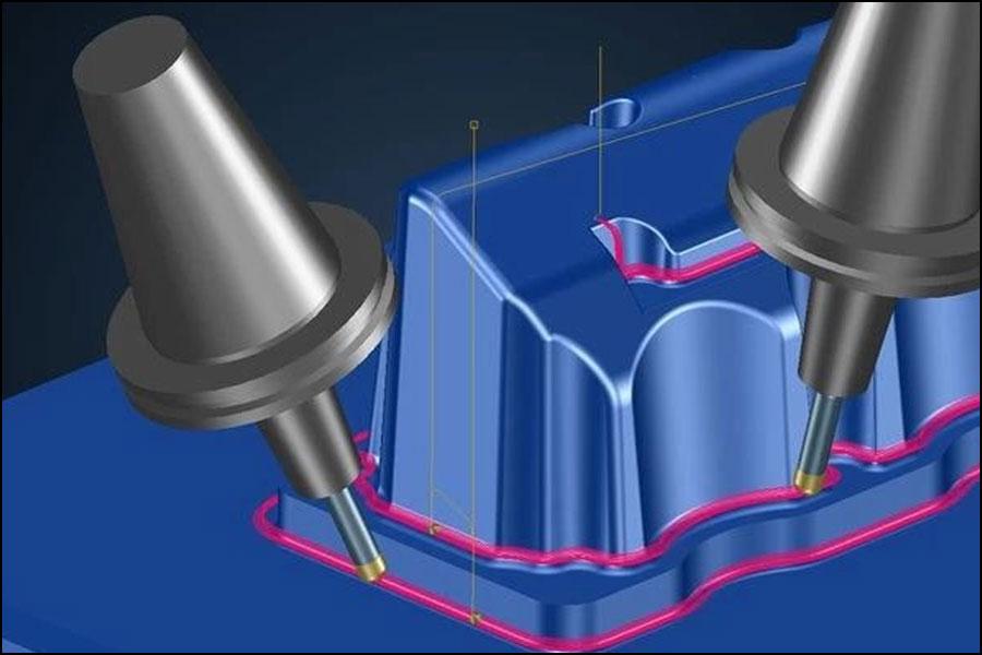 5軸CNCマシンとRTCP機能とは–5軸加工の利点