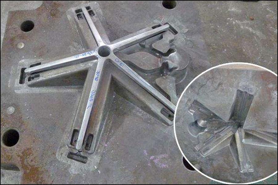 アルミニウム電気通信部品の応用