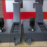 工作機械に磁気チップコンベヤーを使用する際の注意事項は何ですか?