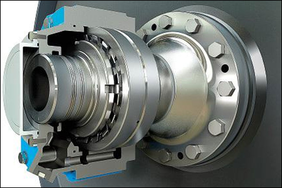 工作機械の高速スピンドルへの磁気ベアリングの応用