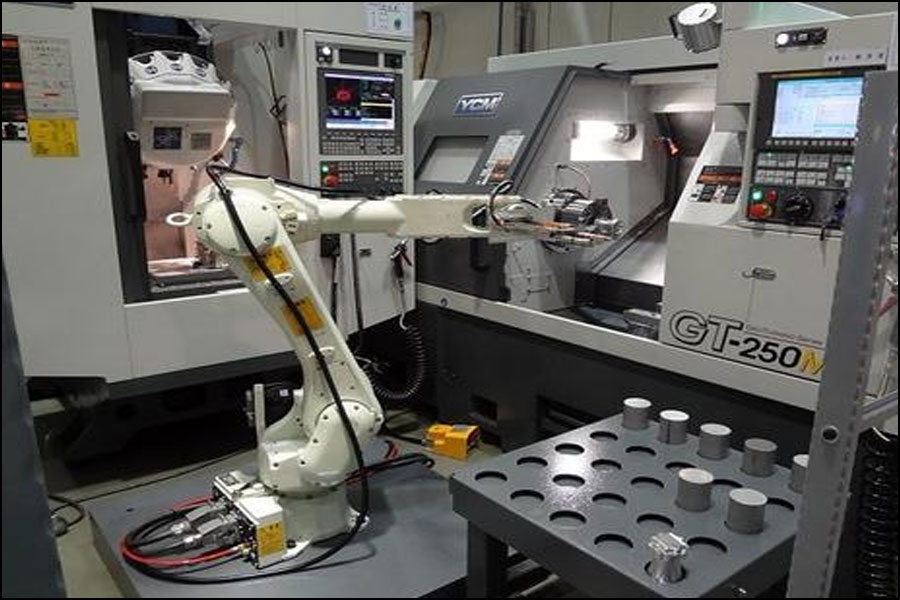 CNC旋盤でのアンロードマニピュレータ操作の利点